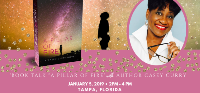 "Book Talk: ""A Pillar of Fire"" January 5, 2019, Tampa"